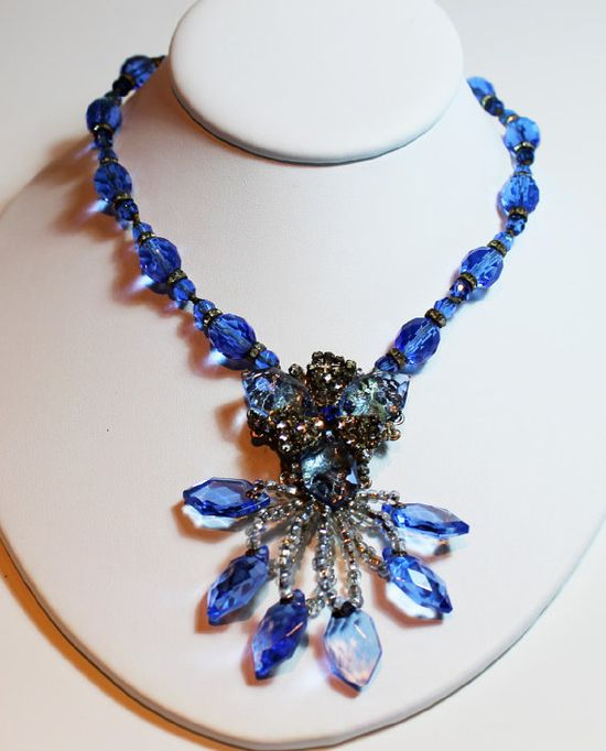 Vintage Necklace MIRIAM HASKELL Signed