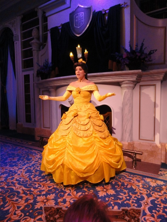 """Belle and Lumiere invite guests to step right into the story of """"Beauty and the Beast"""" and recreate one of Disney's most beloved stories."""