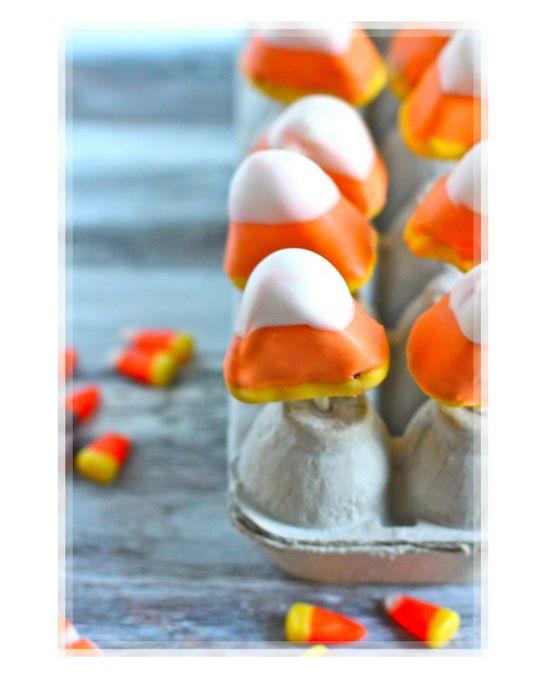 Beautiful Candy Corn Cake Pops