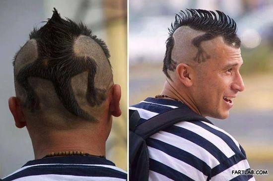 Coooool, hair style