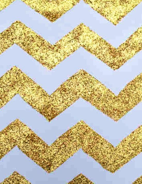 Glitter chevron iPhone wallpaper