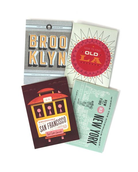 American Vacation - Travel Guide Set cute cards