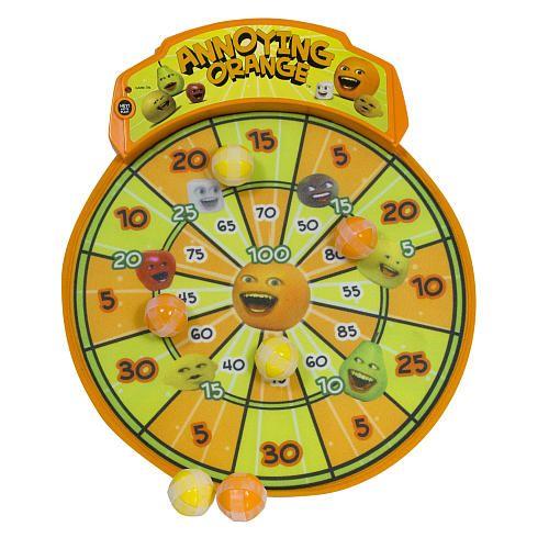 "Annoying Orange Dart Board - The Bridge Direct - Toys ""R"" Us"