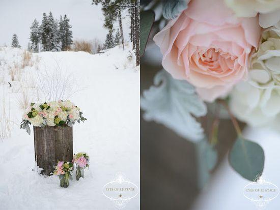 Winter Wedding Flower Arrangements