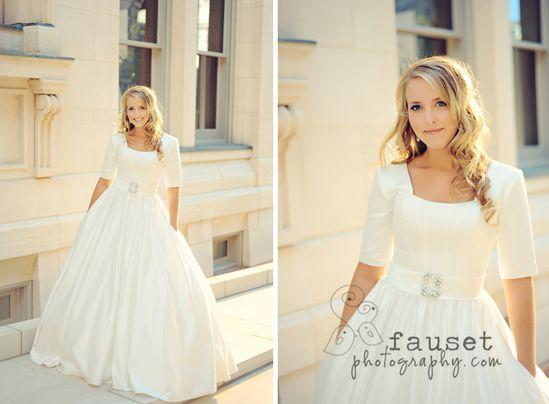so pretty #modest #wedding #dress #sleeves