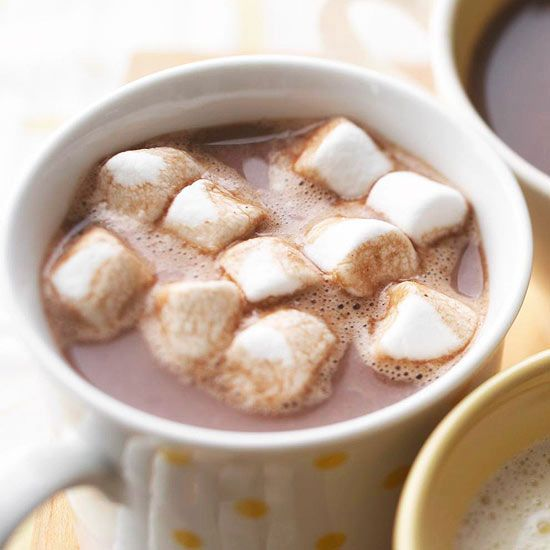 Bittersweet Hot Chocolate - This rich and creamy, steamy hot chocolate recipe requires just five minutes of prep time.