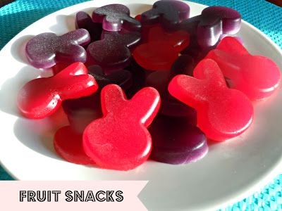 Peep Fruit Snacks ...oh my goodness. Too cute!