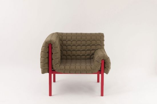 "Armchair ""Ruché"" by Inga Sempé for Ligne Roset #chair #furniture #design"