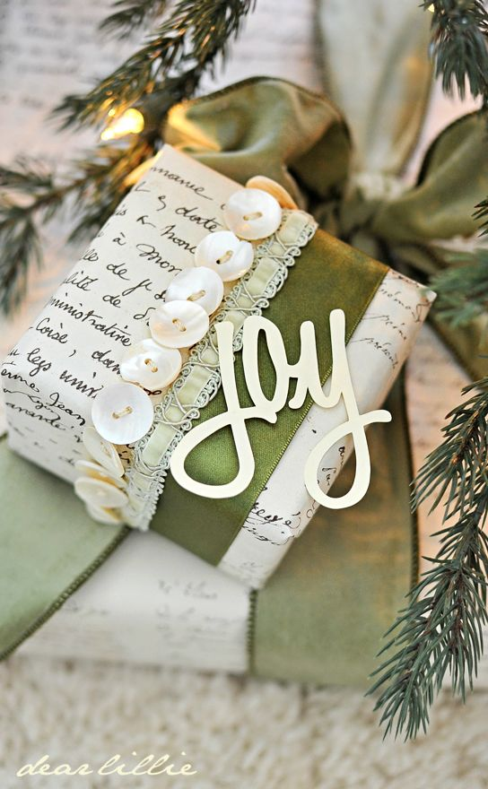 Christmas Inspiration ? Gift Wrapping