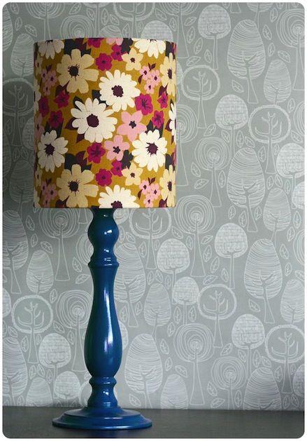 Retro Lamp Upgrade #upcycle #lamp #homedecor #DIY