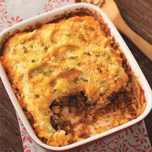 Southwestern Shepherd's Pie Recipe -Taste of Home