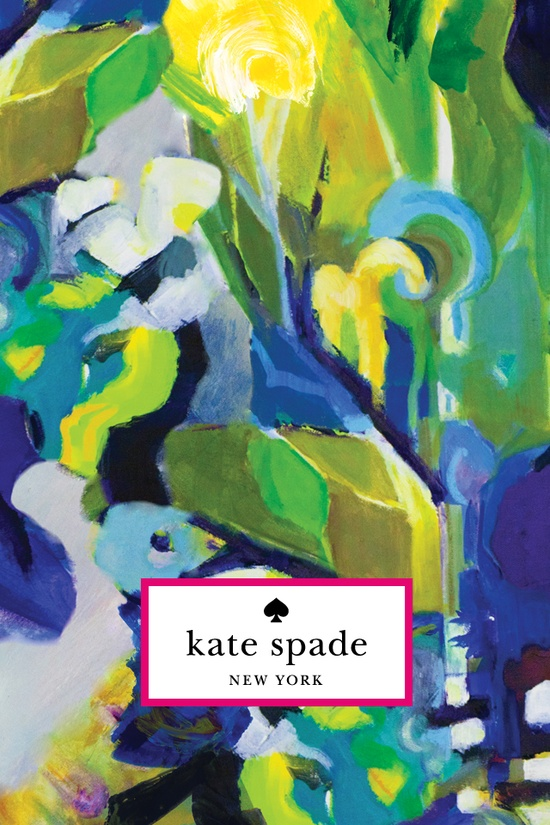 dress up your iphone with this kate spade wallpaper