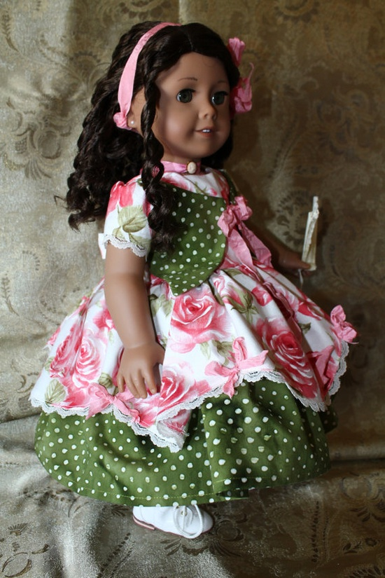 American Girl Cecile MarieGrace Victorian Valentine by breezywindy, $48.00