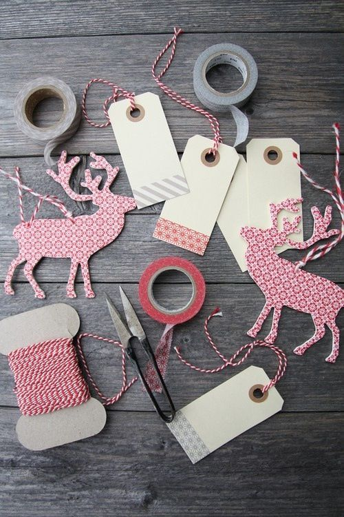Gift Tags #atelier #custom #home #decor #homedecor #inspiration #winter #holiday #diy