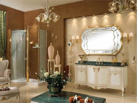 Bathroom Decorations with royal design