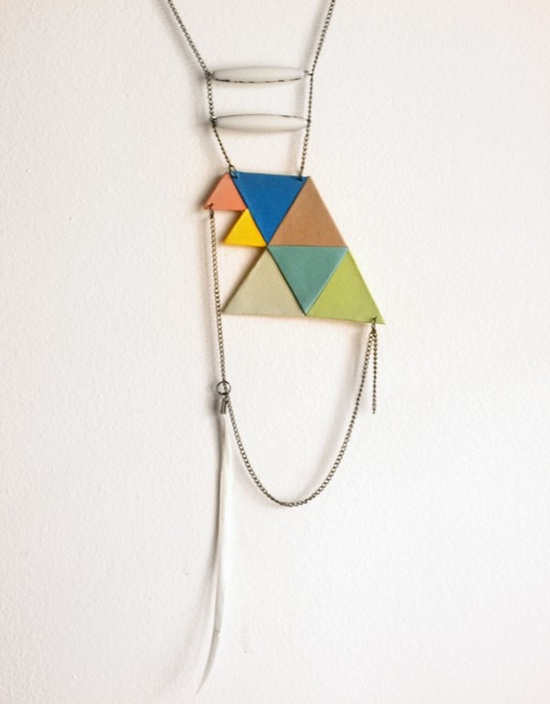 Color Angles Necklace
