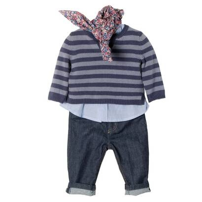 adorable Continental kid's outfits from Bonpoint