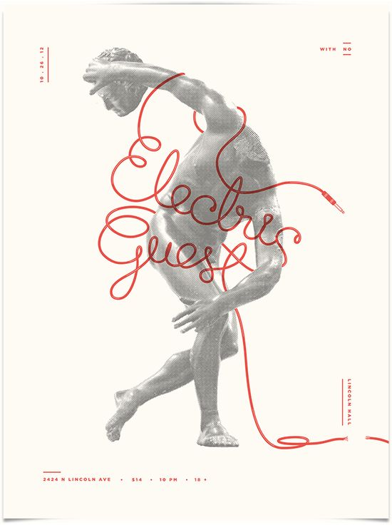 :: Electric Guest - Camilo - Design & Illustration ::