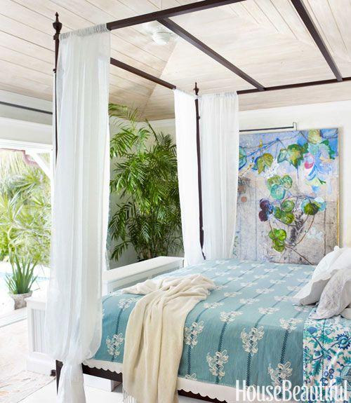 Liza Pulitzer Calhoun Florida House - Lilly Pulitzer Interior Design - House Beautiful