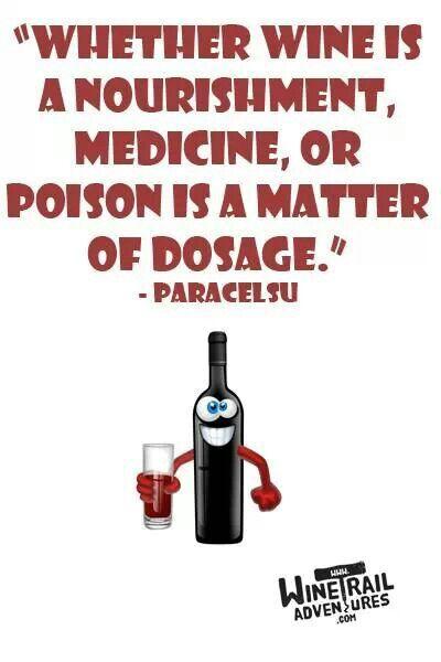 Medicine and nourishment!