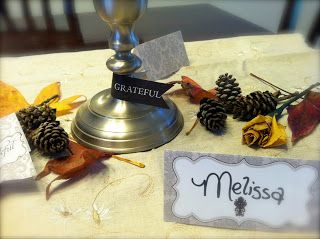 Thanksgiving tablescape and a funny story