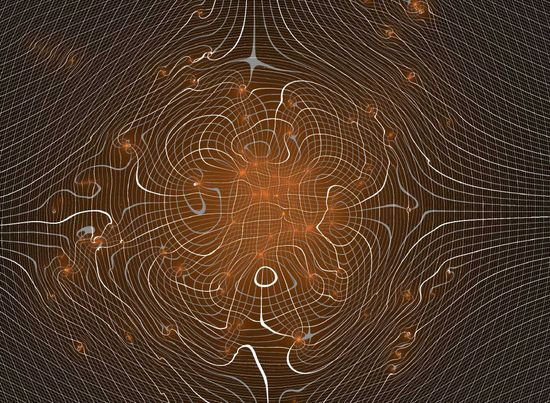 Visualizing Gravitational DistortionDark Matter Distribution Seen through Gravitational Lensing