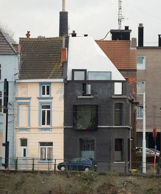 House G-S / Graux & Baeyens Architecten - fun preservation of a 19th century corner house facade