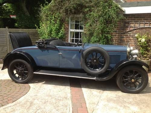 Sunbeam two seater with dicky (1929)