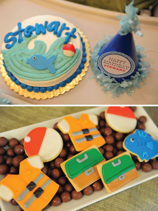 Gone Fishing party ideas