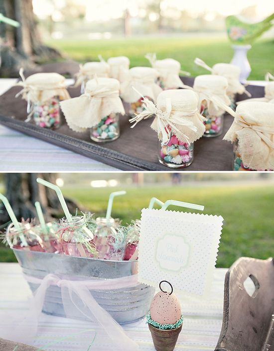 shabby chic easter picnic party