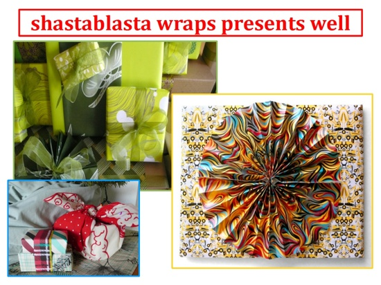 2012 Scotch Most Gifted Wrapper ShastaBlasta as featured on ConfettiStyle