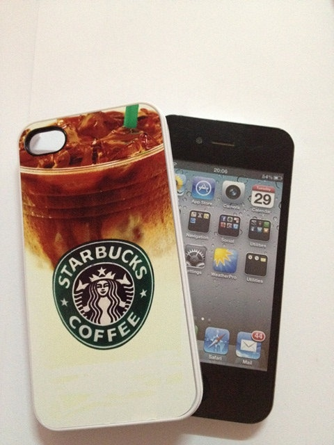 Starbucks Chilled Coffee iPhone 4 Case phone case by iPurely, $15.00