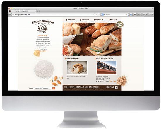 Stone Ground Bakery website