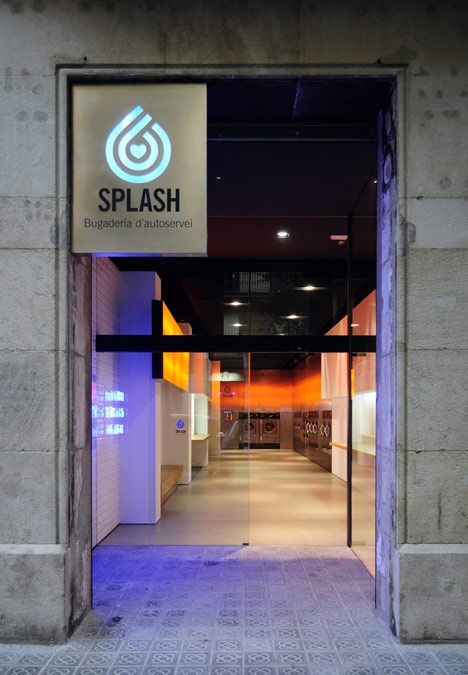 Splash Laundrette by Frederic Perers