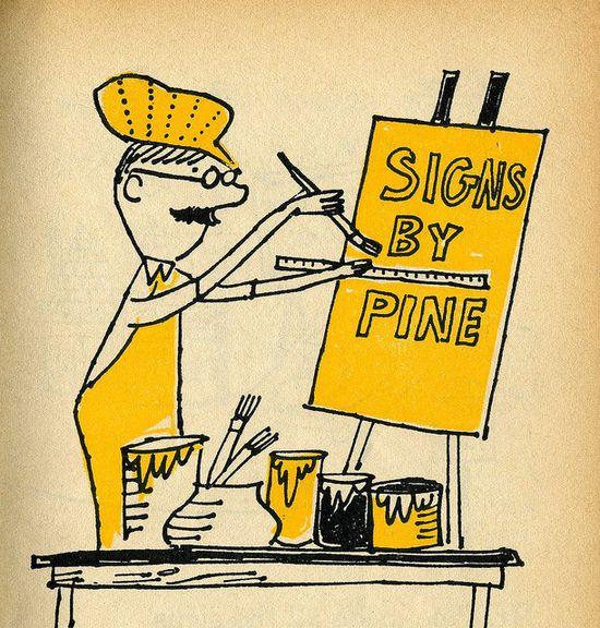 Leonard Kessler 1960 Mr Pine's Mixed-up Signs