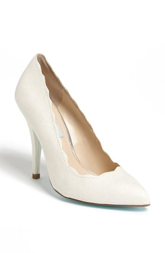 Perfect wedding shoe! Betsey Johnson 'Altar' Pump