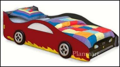 Sport Car For Boy Or Girl Bed Project Plans