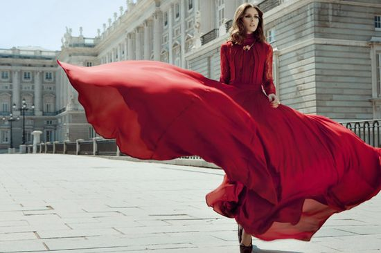Red Flare. #fashion #editorial
