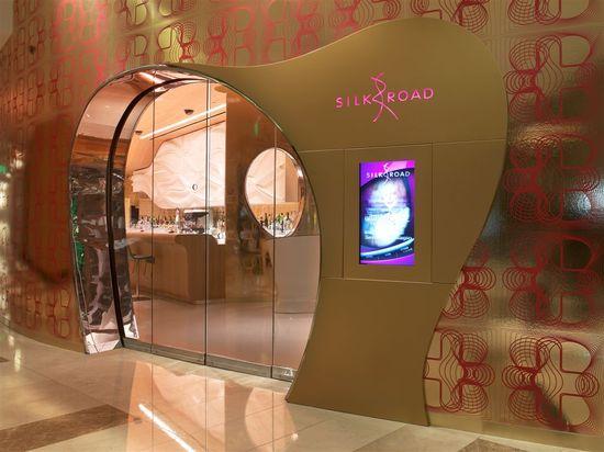 silk road restaurant vegas main entrance design - Zeospot.com : Zeospot.com