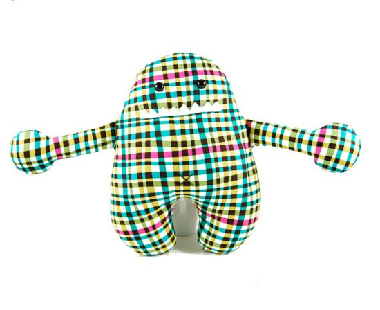 Max the Monster Sewing Pattern PDF by dangercrafts on Etsy, $9.00....For those of you who SEW she has patterns for these cute Monsters