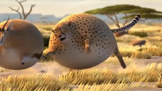 What If Wild Animals Ate Fast Food