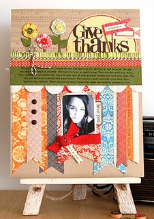 Scrapbooking - Give Thanks