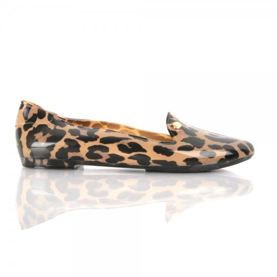 Melissa Leopard Flat
