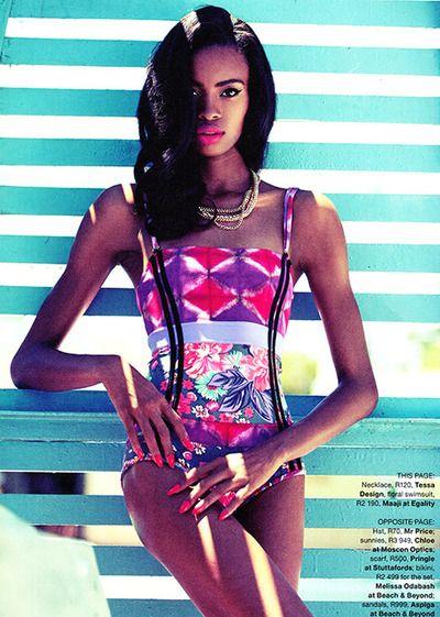 Raschelle Osbourne, Grazia, Aubery Jonsson, Black Fashion Models