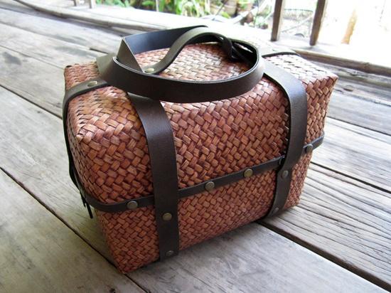 krajood grass/woven/picnic basket