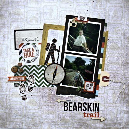 The Desperate Scrapper: Simple Stories - Take A Hike (i'm in love!)
