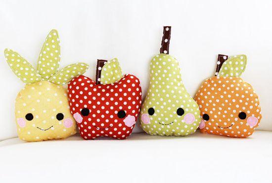 DIY fruit baby toys