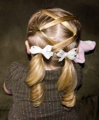 Little girl easter  'do?