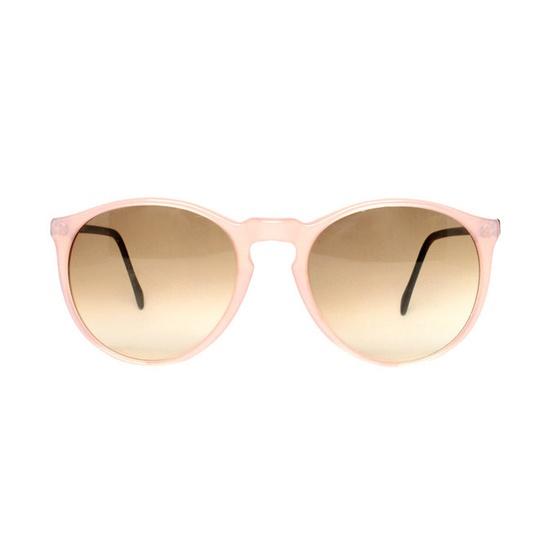 Pink sunglasses.