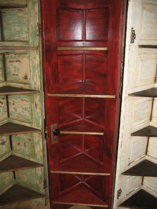 Corner shelves doors in furniture diy  with Shelves Furniture Door